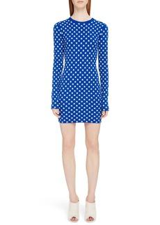 Givenchy Star Print Body-Con Dress