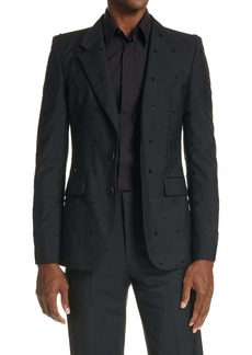 Givenchy Star Print Dinner Jacket