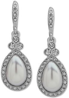 Givenchy Stone Pear-Shape Drop Earrings