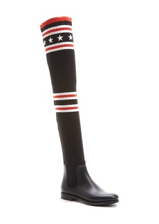 Givenchy Storm Over the Knee Sock Boot (Women)