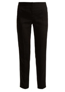 Givenchy Straight-leg crepe trousers