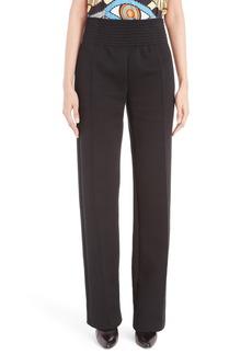 Givenchy Straight Leg Jersey Pants