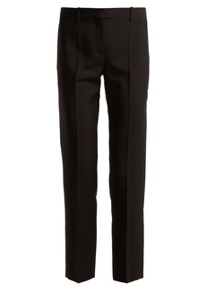 Givenchy Straight-leg wool-blend tailored trousers