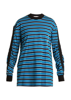Givenchy Striped cotton sweatshirt