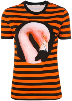 Givenchy striped Flamingo T-shirt