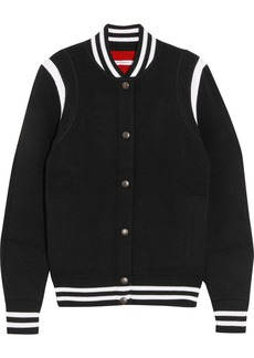 Givenchy Striped wool-blend bomber jacket