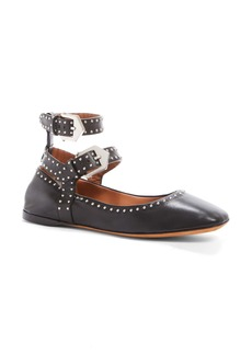Givenchy Studded Ankle Strap Flat (Women)