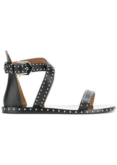 Givenchy studded gladiator sandals - Black