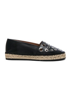 Givenchy Studded Leather Flat Espadrilles