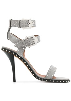 Givenchy studded open-toe sandals - Grey