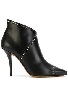 Givenchy studded pointed boots - Black