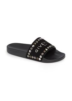 Givenchy Studded Slide Sandal (Women)