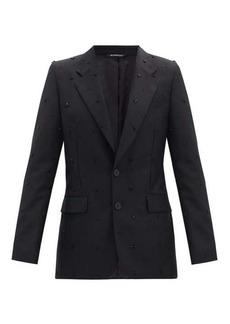 Givenchy Studded wool-blend blazer
