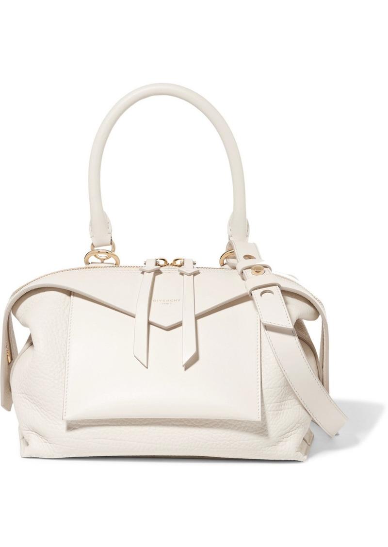 ... Handbags    Sway Small Smooth And Textured-leather Shoulder Bag. Givenchy  Sway Small Smooth And Textured-leather Shoulder Bag 013aa56019149