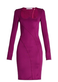 Givenchy Sweetheart-neckline stretch mini dress
