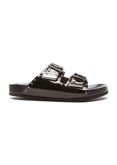Givenchy Swiss Studs Patent Leather Sandals