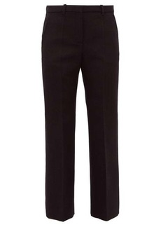 Givenchy Tailored wool-blend twill trousers