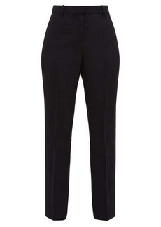 Givenchy Tailored wool-crépe trousers