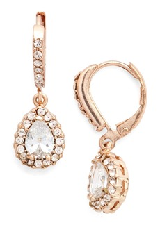 Givenchy Teardrop Crystal Earrings