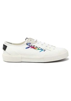 Givenchy Tennis Light logo-embroidered canvas trainers
