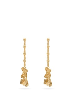 Givenchy Textured drop earrings