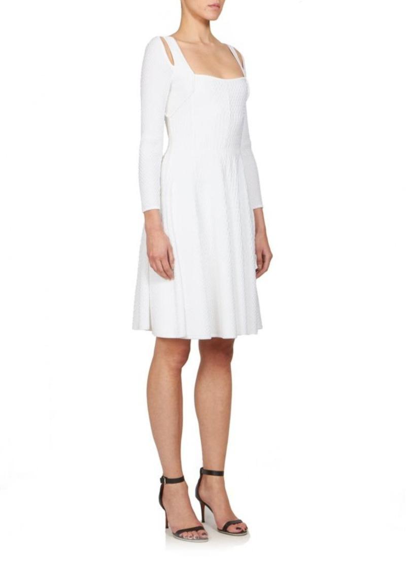 Givenchy Textured Knit Cutout Dress