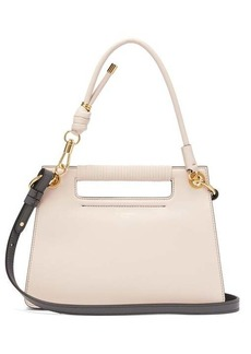 Givenchy The Whip small cut-out leather cross-body bag