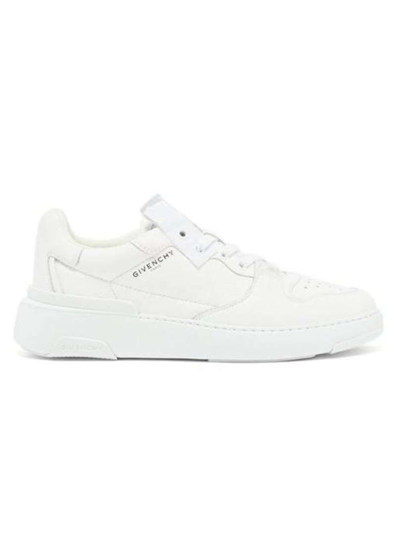 Givenchy The Wing grained-leather trainers