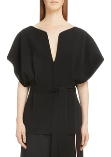 Givenchy Tie Waist Blouse