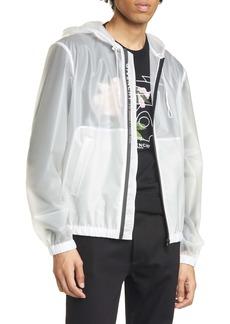 Givenchy Transparent Windbreaker