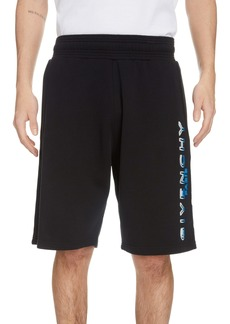 Givenchy Tufted Logo Shorts