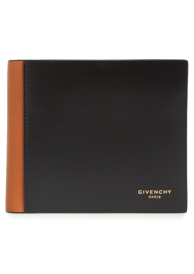 Givenchy Two-Tone Leather Billfold