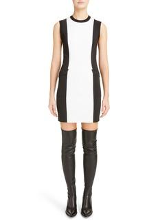 Givenchy Two-Tone Punto Milano Dress