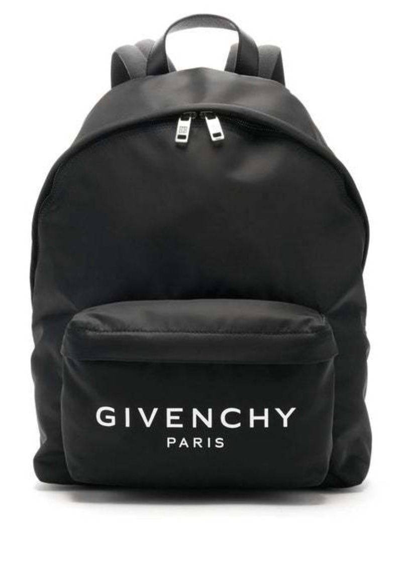 Givenchy Urban leather-trimmed backpack