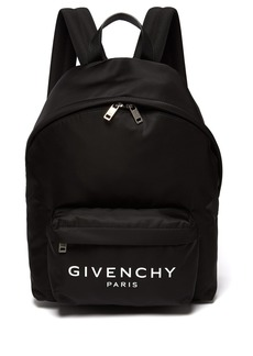 Givenchy Urban leather-trimmed nylon backpack