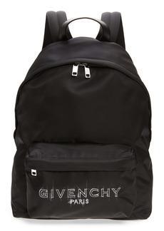 Givenchy Urban Logo Sketch Backpack