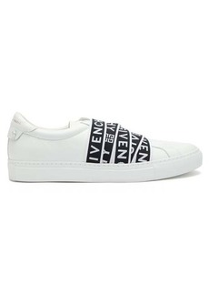 Givenchy Urban Street logo-jacquard leather trainers