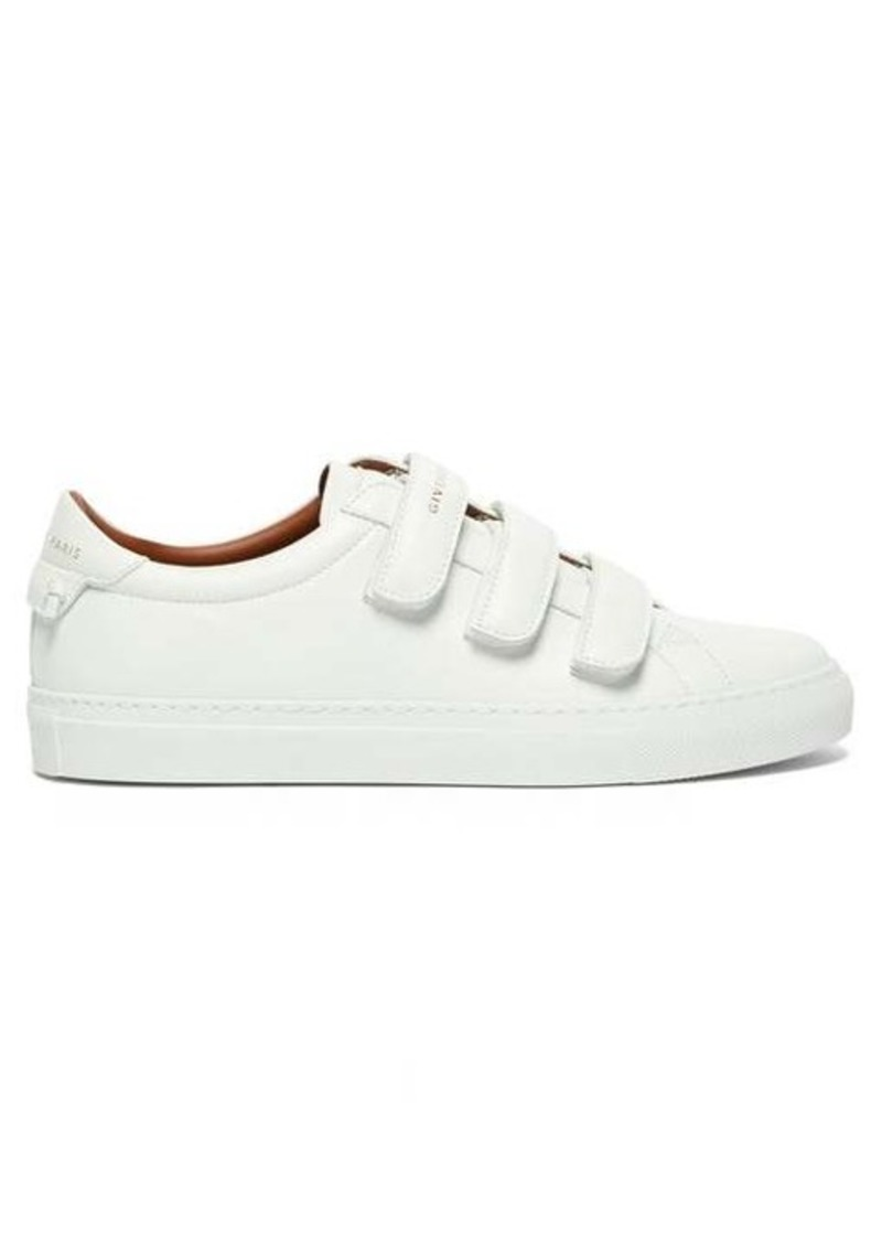 Givenchy Urban Street logo-print leather trainers