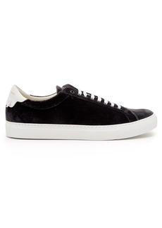 Givenchy Urban Street low-top velvet trainers