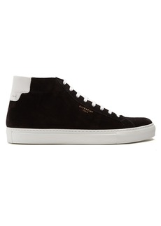 Givenchy Urban Street mid-top leather trainers