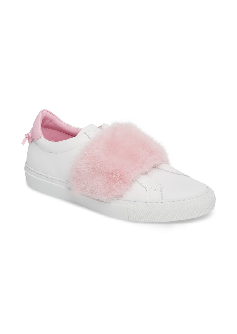 e4e06be6fc69 Givenchy Givenchy Urban Street Slip-On Sneaker with Genuine Mink Fur ...