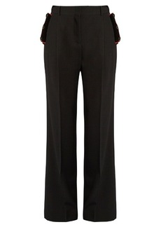 Givenchy Wide-leg wool trousers