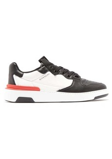 Givenchy Wing grained-leather trainers