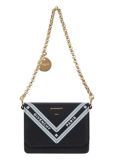 Givenchy Wing Leather Card Case on a Chain