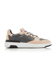 Givenchy Wing Two-Toned Low-Top Leather Sneakers