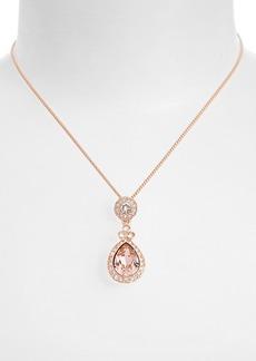 Givenchy 'Wingate' Swarovski Crystal Pendant Necklace