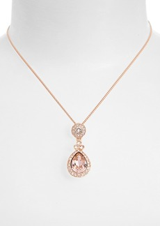 Givenchy 'Wingate' Swarovski Crystal Pendant Necklace