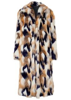 Givenchy Woman Faux Fur Coat White