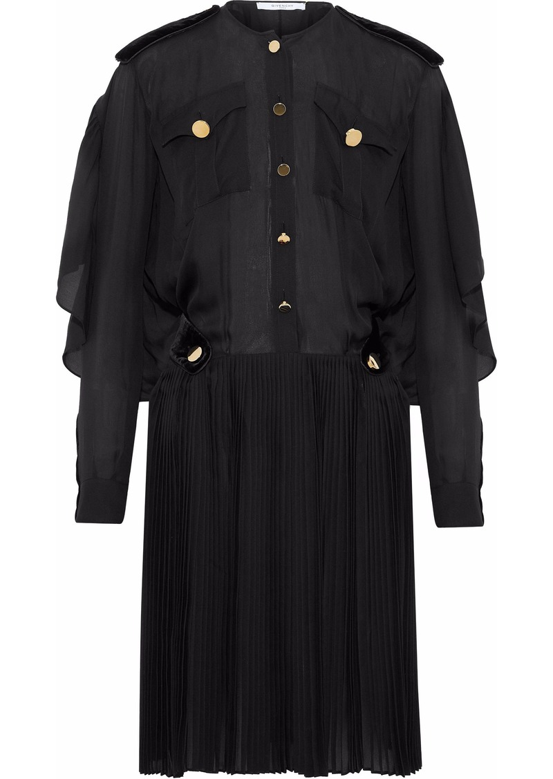 Givenchy Woman Knee Length Dress Black