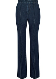 Givenchy Woman Low-rise Straight-leg Jeans Dark Denim